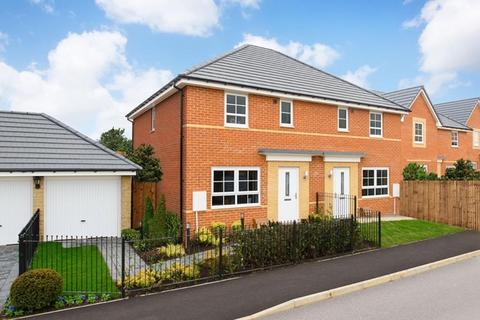 Barratt Homes - City Edge - Plot 1002, The Kielder at The Rise, Newcastle Upon Tyne, Off Whitehouse Road NE15