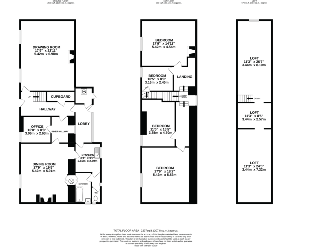 Floorplan 1 of 2: Farmhouse
