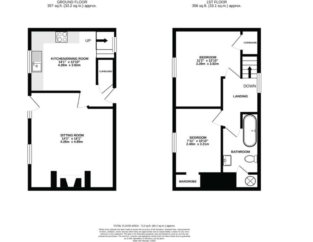 Floorplan 2 of 2: Cottage