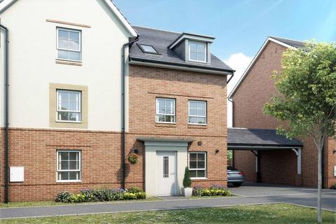 3 bedroom semi-detached house - Plot 42, Norbury at Canal Quarter at Kingsbrook, Burcott Lane, Aylesbury, AYLESBURY HP22
