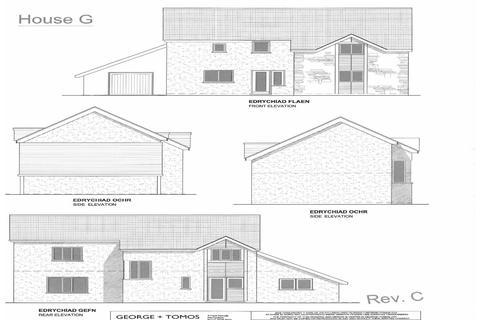 3 bedroom detached house for sale - Plot 7,  Y Wern Rhydymain LL40 2AJ
