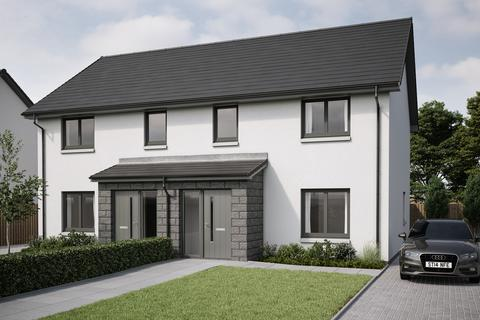 3 bedroom semi-detached house for sale - Plot 41, The Cullerlie with Porch at Crest of Lochter, Inverurie, Aberdeenshire AB51