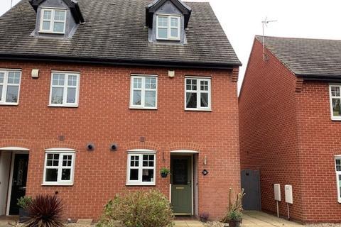3 bedroom semi-detached house for sale - Donington Drive, Woodville, DE11