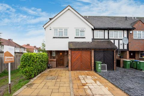 3 bedroom end of terrace house for sale - Cottage Field Close, Sidcup, DA14