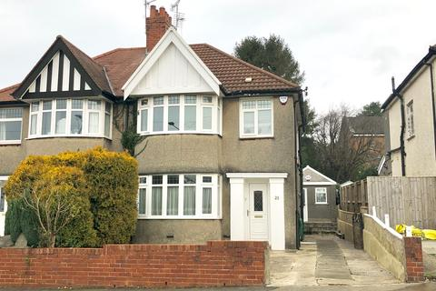 3 bedroom semi-detached house - Harlech Crescent, Sketty, Swansea, SA2