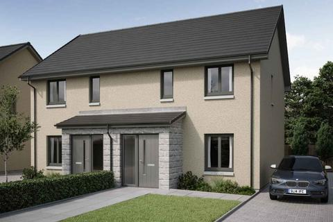 3 bedroom semi-detached house for sale - Plot 4, The Kintraw at Crest of Lochter, Inverurie, Aberdeenshire AB51