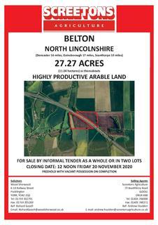 Farm land for sale - Belton, Doncaster DN9