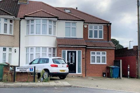 5 bedroom semi-detached house for sale - Woodcroft Avenue, Stanmore