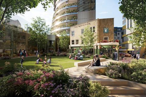 2 bedroom flat for sale - 4.9 Aspen Consort Place, Marsh Wall, London, E14