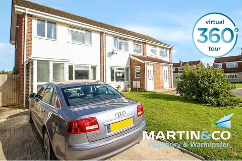 3 bedroom end of terrace house for sale - Ruskin Drive, Warminster
