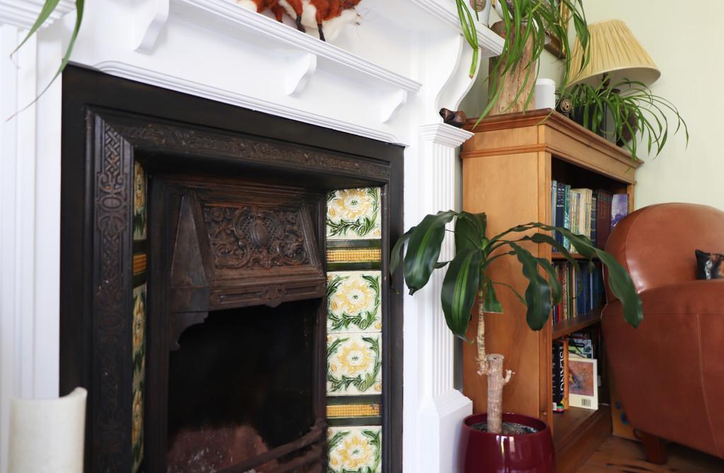Fireplace Detail a
