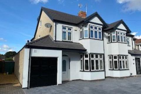 4 bedroom semi-detached house to rent - Droylsdon Park Road, Coventry