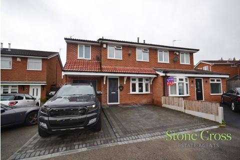 3 bedroom semi-detached house for sale - Carswell Close, Tyldesley, M29 8XH