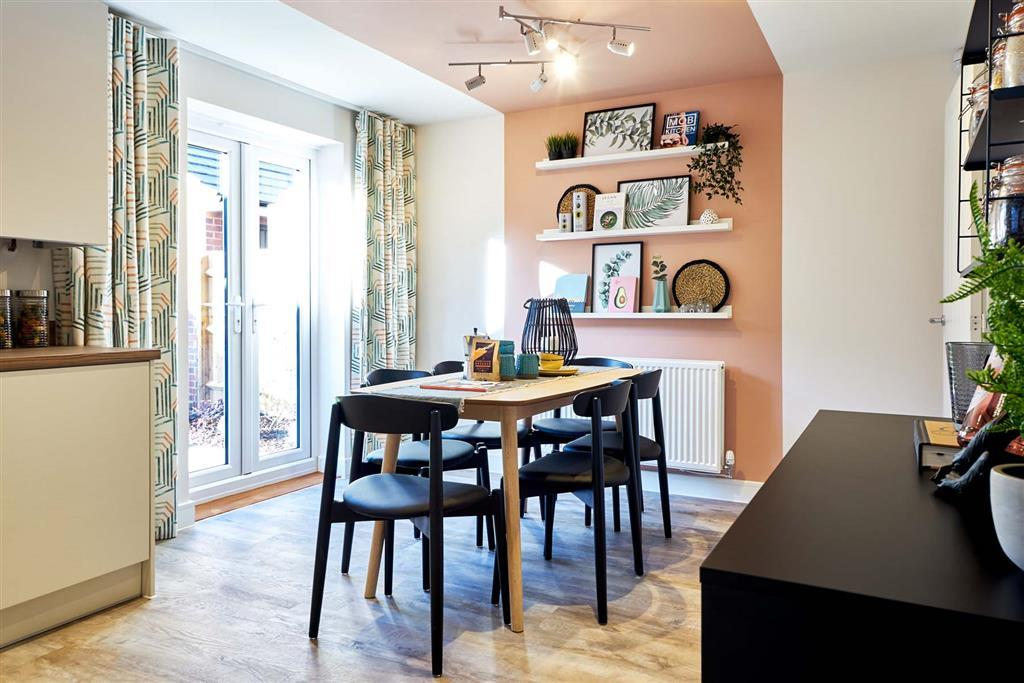 Dining space for family meal times