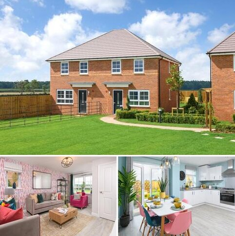 3 bedroom semi-detached house for sale - Plot 78, Maidstone at Woburn Downs, Watling Street, Little Brickhill, MILTON KEYNES MK17