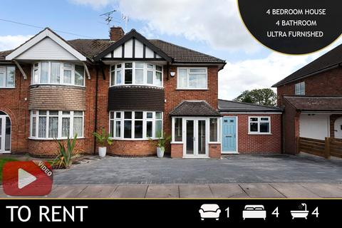 4 bedroom semi-detached house to rent - Downing Drive, Leicester, LE5