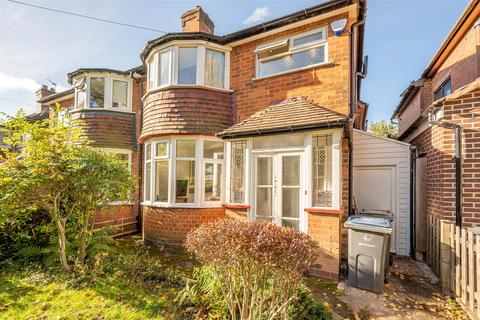 3 bedroom semi-detached house for sale - Queens Park Road, Harborne, Birmingham, B32 2LB