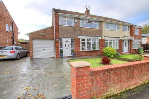 3 bedroom semi-detached house for sale - Tunstall Avenue, Billingham