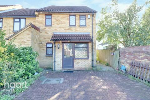 1 bedroom end of terrace house for sale - Badgers Close, Hayes