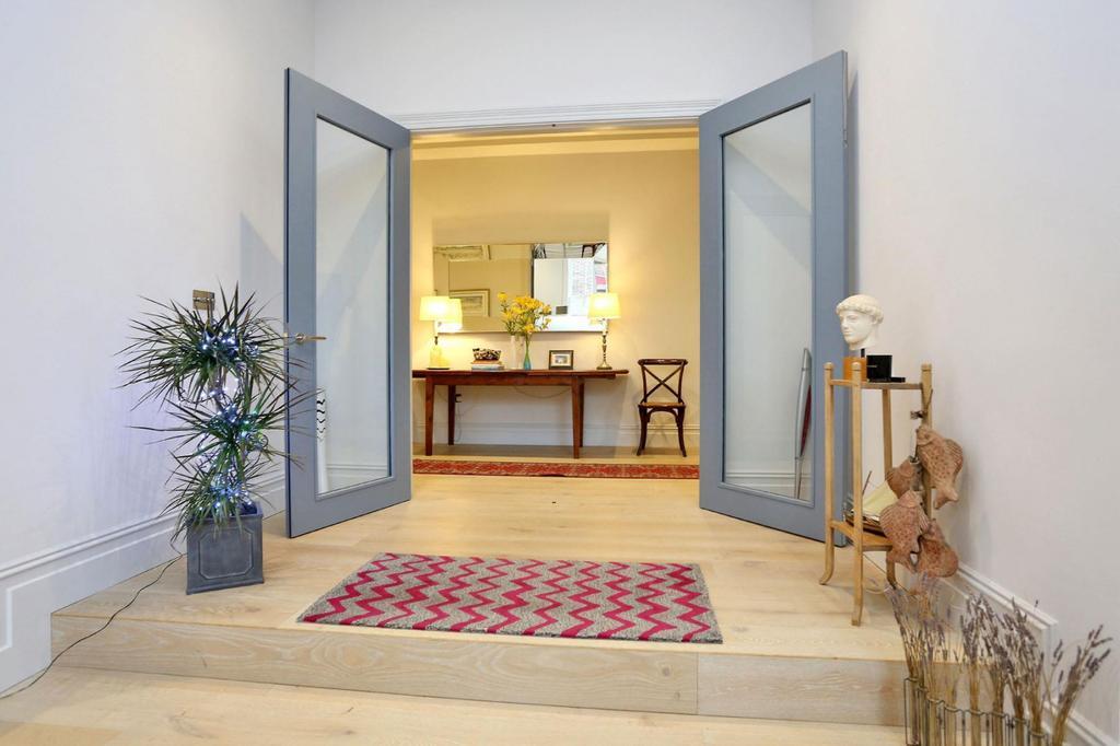 Reception doors