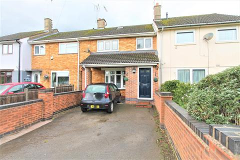 3 bedroom terraced house for sale - Homestone Gardens, Thurnby Lodge, Leicester LE5 2LJ
