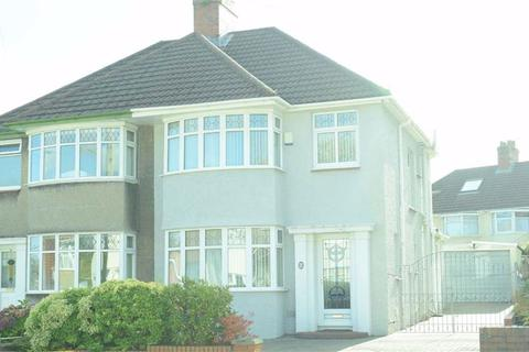 3 bedroom semi-detached house - Harlech Crescent, Sketty