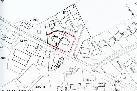 6 bedroom property with land for sale - 2 Building Plots (£85,000 per plot), opposite Nantcrymanau, Llechryd, Cardigan, Ceredigion