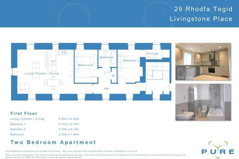2 bedroom apartment to rent - Upper Denbigh Road