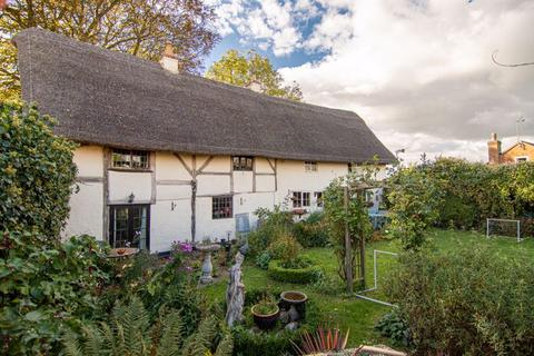 3 bedroom detached house for sale - The Thatched Cottage, Station Road,Theddingworth