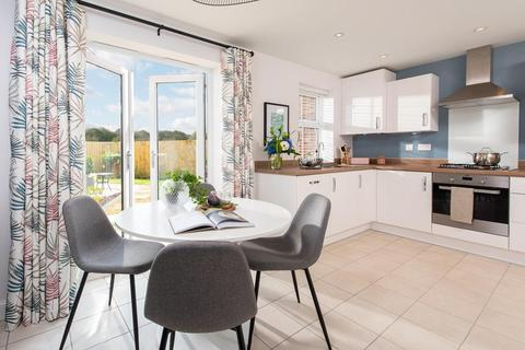 David Wilson Homes - The Wickets, Earls Barton - Plot The Huxford - 24, The Huxford - Plot 24 at Glenvale Park, Land off Niort Way NN8