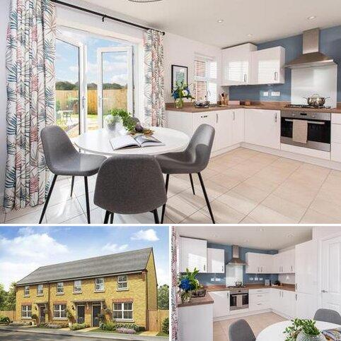 3 bedroom terraced house for sale - Plot 165, Archford at The Wickets, Earls Barton, Main Road, Earls Barton, NORTHAMPTON NN6