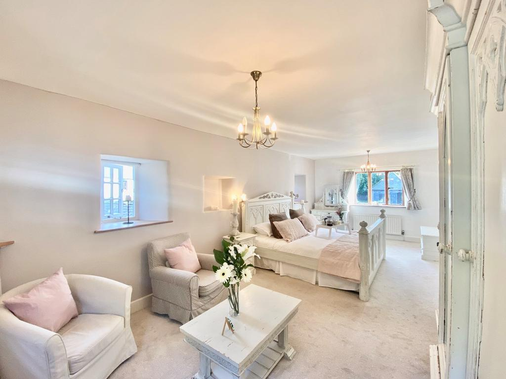 Bedroom at Ranscombe Manor