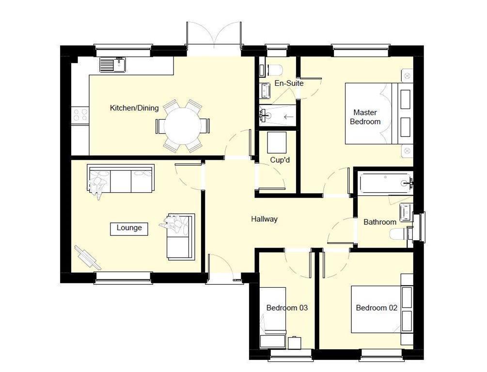 Floorplan: Plot 4 Floor Plan