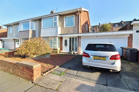 3 bedroom semi-detached house for sale - Abbey Drive, Tynemouth, NE30