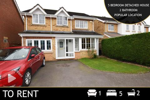 5 bedroom detached house to rent - Hill Field, Oadby, Leicester, Leicestershire, LE2
