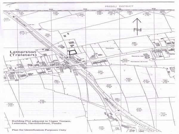 Land Commercial for sale in Upper Terrace, Letterston, Haverfordwest, Pembrokeshire