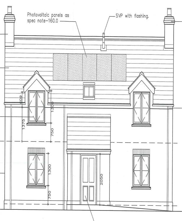 Plot Commercial for sale in Building Plot Adj to 122, St Davids Road, Letterston, Haverfordwest, Pembrokeshire