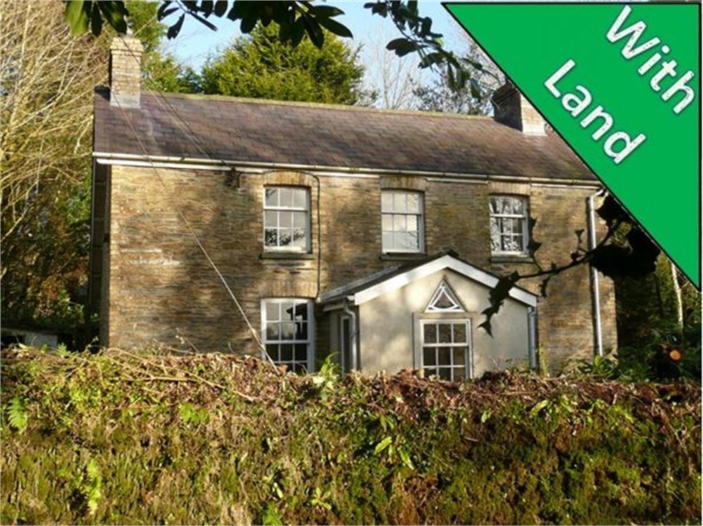 3 Bedrooms Detached House for sale in Plas-y-Wennol, Llanfyrnach, Pembrokeshire