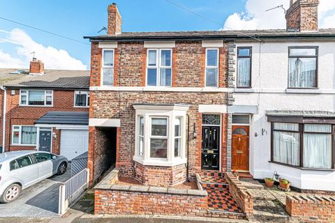 3 bedroom end of terrace house to rent - Heath Street, Stockton Heath