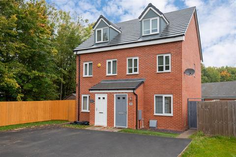 3 bedroom townhouse for sale - Woodpecker Way, Shepshed