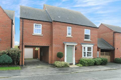 4 bedroom detached house for sale - Marmion Close, Market Harborough