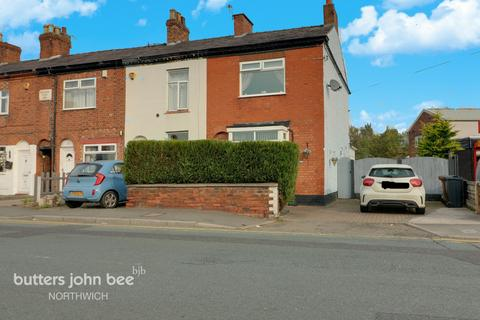 3 bedroom end of terrace house for sale - Middlewich Road, Northwich