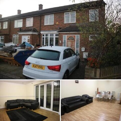5 bedroom end of terrace house to rent - Monksfield Way, Britwell, Slough, Berkshire. SL2 1QW