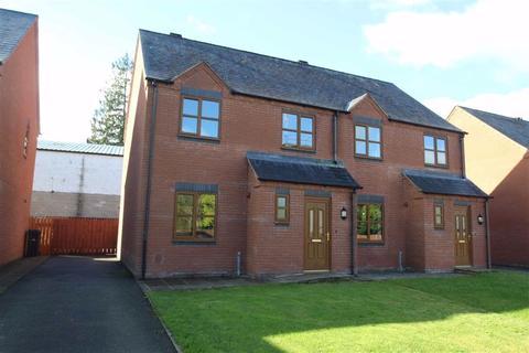 3 bedroom semi-detached house for sale - Llys Yr Orsaf, Llanfyllin