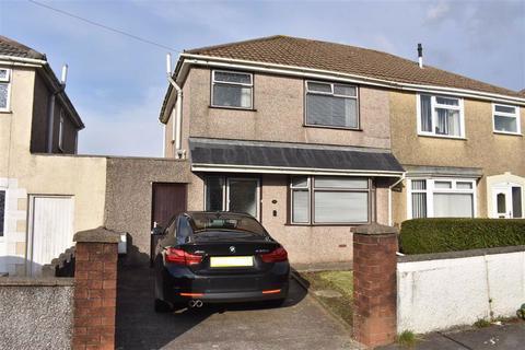 3 bedroom semi-detached house for sale - Graiglwyd Road, Cockett, Swansea