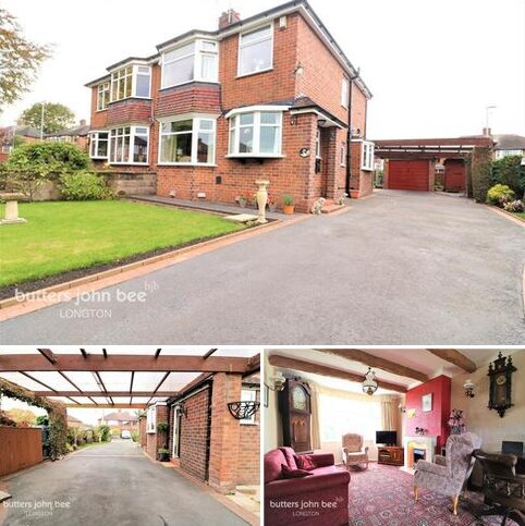 3 bedroom semi-detached house for sale - Crossfield Avenue, Stoke-On-Trent