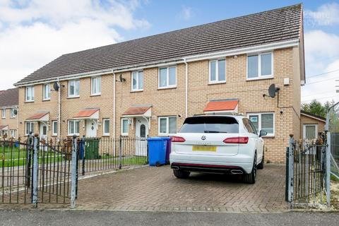 2 bedroom end of terrace house for sale - Strachur Crescent, Glasgow