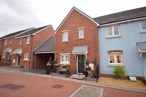 2 bedroom end of terrace house for sale - 7 Lon Yr Ardd, Parc Derwen, Coity, Bridgend, CF35 6EZ