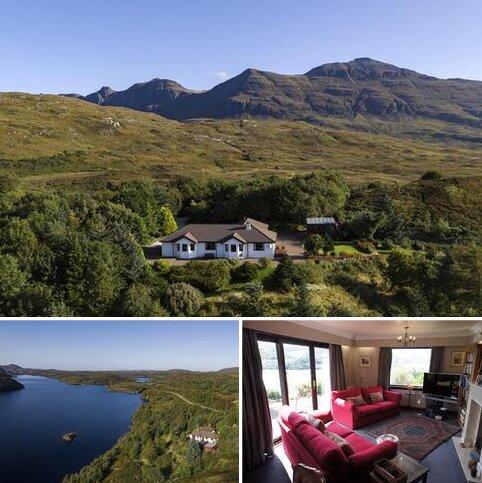 3 bedroom detached house for sale - Ruddylglow Park, Loch Assynt, Lairg, Sutherland IV27  4HB