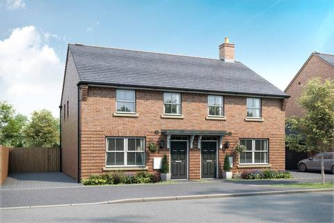 3 bedroom semi-detached house for sale - Plot 12, ARCHFORD at Canal Quarter @ Kingsbrook, Burcott Lane, Aylesbury, AYLESBURY HP22